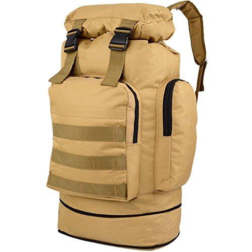 80L sacchetti di alpinismo borsa a tracolla all'aperto borsa da viaggio zaino di grandi dimensioni