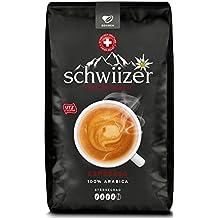 Schwiizer Schüümli Ganze Kaffebohnen Espresso, 1er Pack (1 x 1000 g)