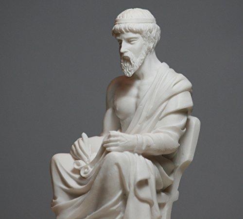 Desconocido Filósofo Platón Griego Estatua Escultura