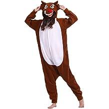 Pijama Lobo, Onesie Modelo Animal Cosplay para Adulto entre 1,40 y 1,87 m Kugurumi Unisex