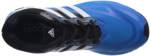 adidas response boost techfit m Herren Laufschuhe Multicolor (SOLBLU/RUNWHT/Black1)