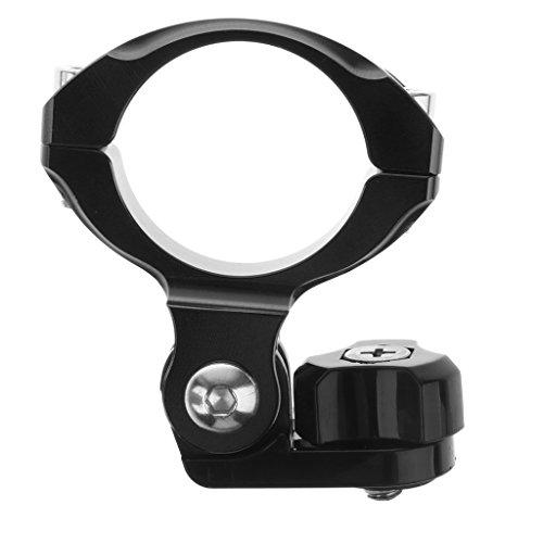 Sharplace Fahrrad Motorrad Lenker Halterung Lenkerklemme Handgriff Klammer für Gopro Hero 4/3 + / 3 Kamera mit Adapter - Schwarz (Kamerahalterung Lenker)