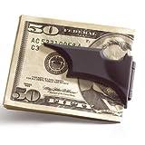 BATMAN Batarang Geldklammer - schwarz, satiniert Moneyclip Sammlerstück