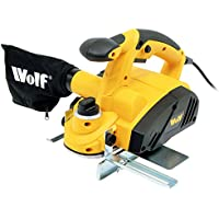 Wolf 900 Watt 3 Bladed Rebate Planer with 82mm planing width Triple TCT Reversible Blades Give A Superior Cut Action- RAZOR SHAVE FINISH EVERYTIME