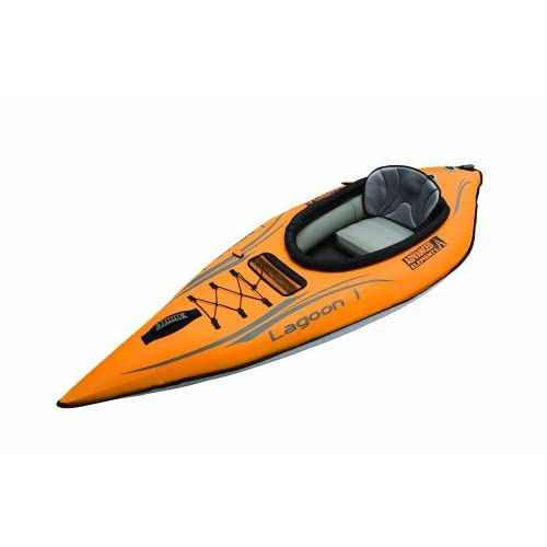 411d%2B4b2z7L. SS500  - ADVANCED ELEMENTS Lagoon Inflatable Kayak with Carry Bag and Repair Kit