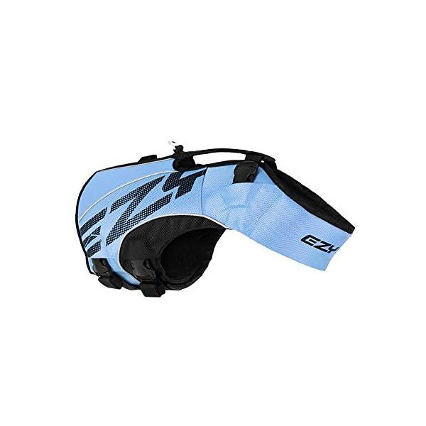 EzyDog X2 Boost Dog Lifejacket (Small, Pink) 7