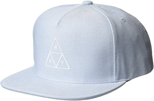 HUF Triple Triangle Snapback Cap - Blau - Einstellbar