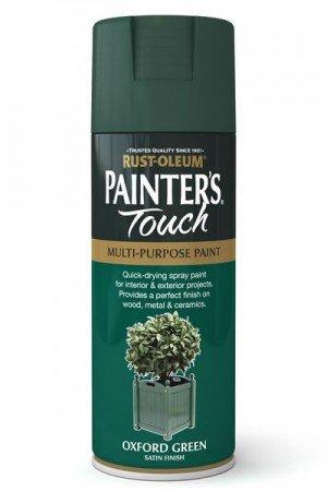 rust-oleum-painters-touch-multi-purpose-aerosol-spray-paint-400ml-oxford-green-gloss-2-pack