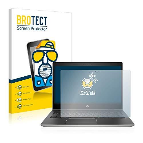 BROTECT Schutzfolie Matt kompatibel mit HP ProBook x360 440 G1 (eine Kamera) - Anti-Reflex