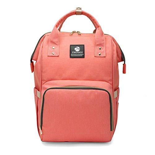 Haiwan Mutter Mama RucksackGeräumig Babytasche Dauerhaft Belastung Wickeltasche Multi Tasche Wickelrucksack Mode Casual Backpack
