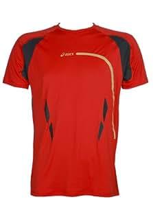Asics Running Fitness Sportshirt Speed Top Hommes 0676 Art. 321022 Taille L