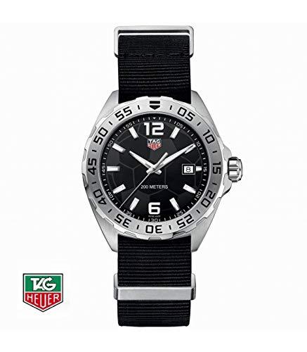 TAG Heuer Herren-Armbanduhr Armband Nylon Schweizer Quarz WAZ1015.FC8198 (Tag Heuer Damenuhren)