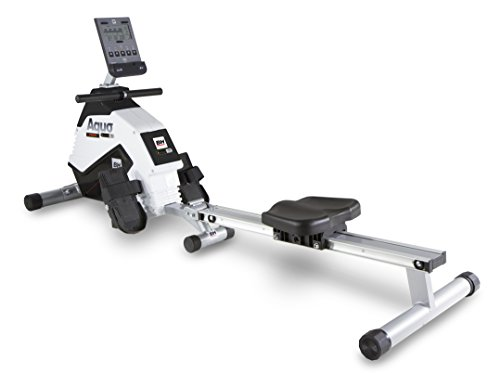 BH Fitness AQUO DUAL + DUAL KIT WR309U Rudergerät - Rudermaschine - Ruderzug - Anschluss von Smartphones/Tablets