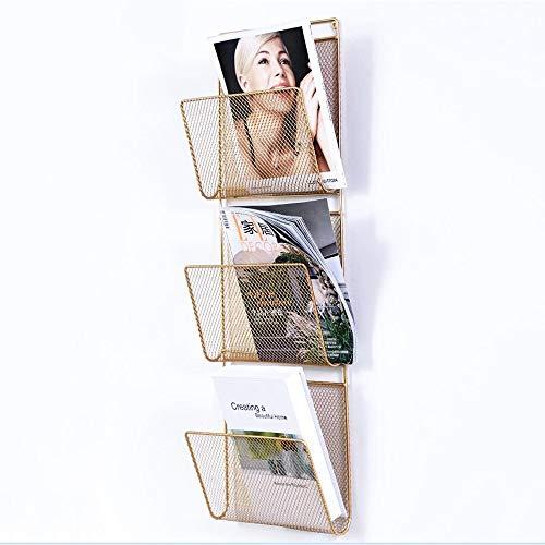 Duo Bücherregal Wall File Holder Organizer, Wandhalterung/Over The Door Metall-Bürobedarf...
