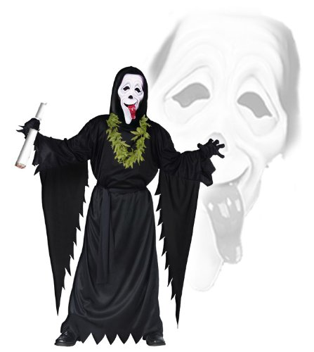 Scream Scary Movie Set - Scream Kostüm Für Erwachsene