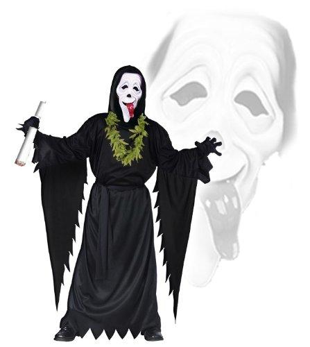 Scream Scary Movie Set (Ghostface Kostüm)