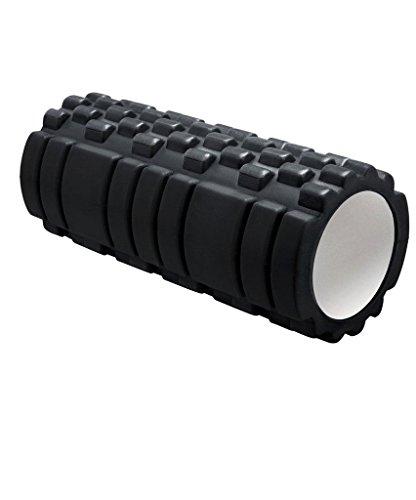 Foam Roller Stoga Foam Roller EVA High Density Foam Trigger Point für körperliche Therapie und Bewegung - ideal für Myofascial Freisetzung und Ganzkörper-Steifigkeit Relief-Schwarz