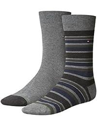 TOMMY HILFIGER Herren Variation Stripe Casual Business Socken 4er Pack