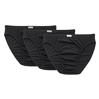 Fruit of the Loom Men's Underwear Classic Slip - 3-Pack - Black - Small