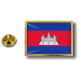 Akacha pin flaggenpin Flaggen Button pins anstecker Anstecknadel sammler kambodscha