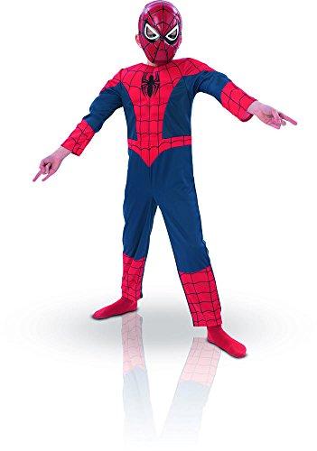 RUBIE'S Marvel - Costume da bambino Spider-man Deluxe - Taglia 3-4 anni