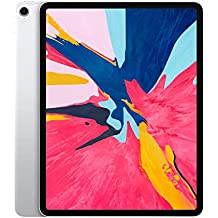 Apple iPad Pro 12.9 3rd Generation 2018 Tablets (256GB WiFi, Silver)