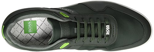 Boss Green Arkansas_lowp_nymx 10197583 01, Sneakers Basses Homme Vert (Dark Green 301)