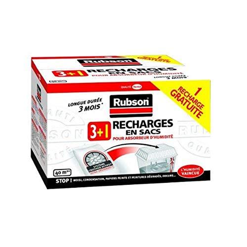 Rubson Recharges classiques pour absorbeur d'humidité 3 + 1 gratuite