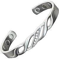 Magnetisches Armband für Damen, Kupfer, zur Schmerzlinderung von Arthritis, biologisch magnetisch, mit Edelsteinen... preisvergleich bei billige-tabletten.eu