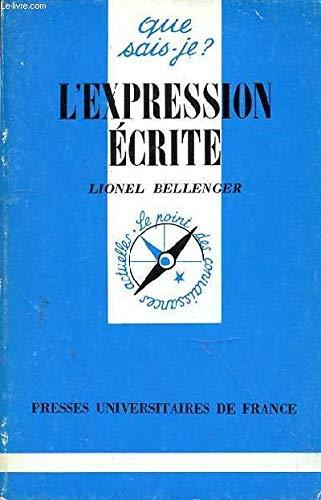Expression Ecrite (l')