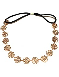 Style Gallery Gold Color Hollow Flower Shaped Hair Band Head Band For Women