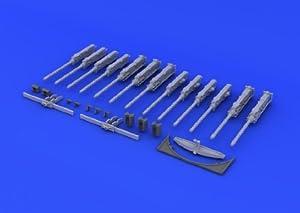 Eduard EDB632026 Kit de Pistola de latón 1:32 -B-17G (HKM), Varios.