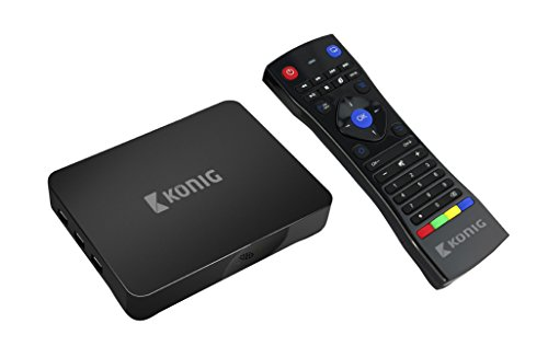 König KN-4KASB Android 4K-Streaming-Box (4K, 3D, 5G, WLAN, XBMC, Kodi fähig)