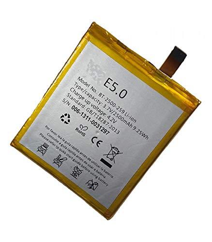 Red Consolas Bateria BT-2500-259 para BQ Aquaris E5 HD 2500 mAh