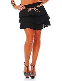 4a6d928669 ZARMEXX dulces damas volantes falda del verano de la falda mini falda con  la falda del
