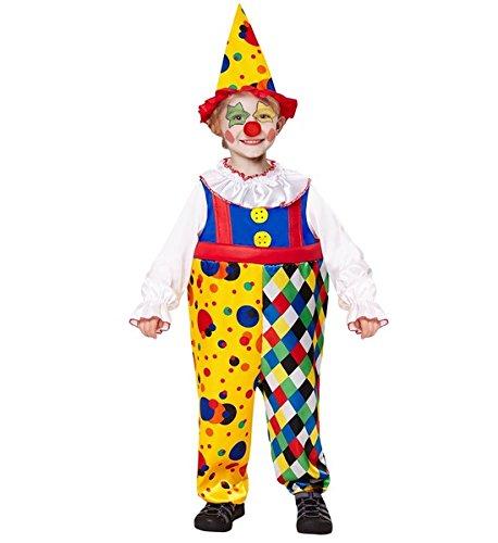 Kleinkind Kostüme Clown (Clown Boy - Kinder-Kostüm - Kleinkind - Ages 2-3 -)