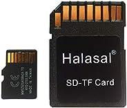 بطاقة ذاكرة فلاش مايكرو اس دي اكس سي سعة 64 جيجا بسرعة 30 ميجا في الثانية مع محول، للهواتف الذكية ومكبر الصوت