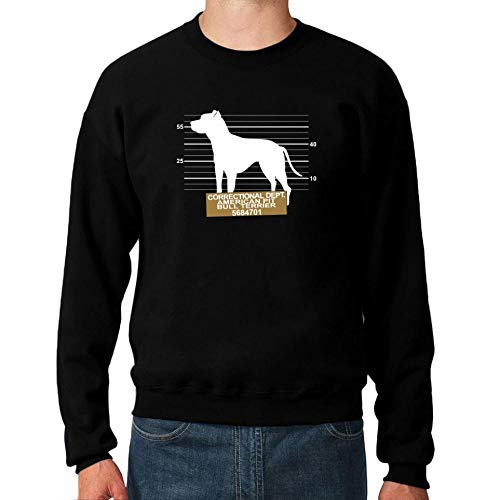 Idakoos Correctional DEPT American Pit Bull Terrier Sweatshirt M Bull Terrier Sweatshirt