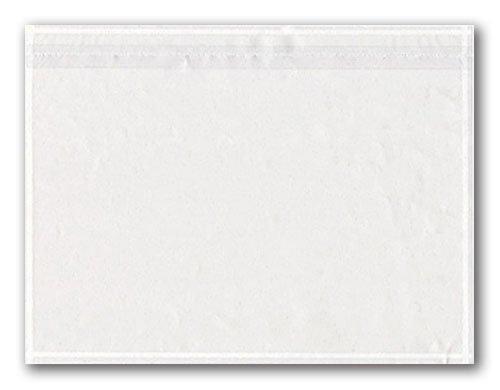 100 Dokumententaschen transparent ohne Druck DIN C5