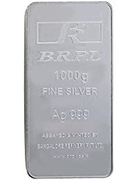 Bangalore Refinery 999 Purity Silver Bar 1 Kg