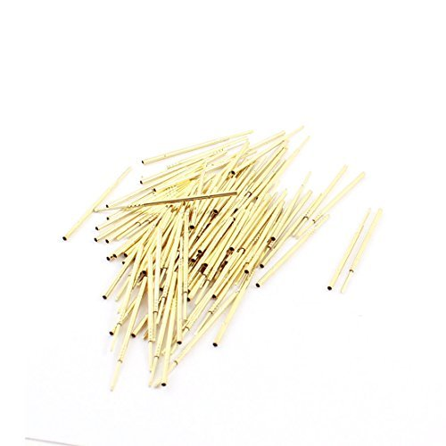 100 x 38mm Long RL75-4W 0.6x0.6mm Tip Testsondes Pins jacks Pin Tip-jack