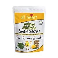 ALL HEART Mango Jalapēno Seeded Crackers -75gm
