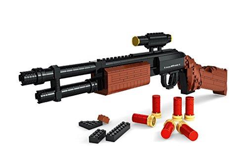 Modbrix 122804 - Bausteine Pump Gun Gewehr, 527 Teile thumbnail