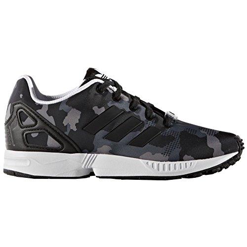 adidas Zx Flux El Camo Noire Gris 32