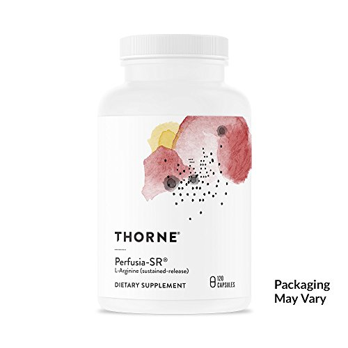 411dFIhFw6L. SS500  - Thorne Research - Perfusia-SR - Sustained-Release L-Arginine to Support Heart Health, Nitric Oxide Production, and Optimal Blood Flow - NSF Certified for Sport - 120 Capsules