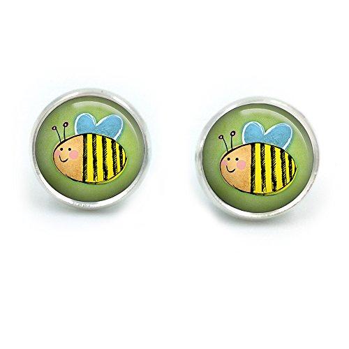 Antike Bronze Bumble Bee Ohrstecker| Bienen| speichern die Bienen| Honigbiene| Biene Schmuck| Biene Schmuck| Geschenk für sie| Frau Geschenk| Geschenk für Frau| Weihnachtsgeschenk