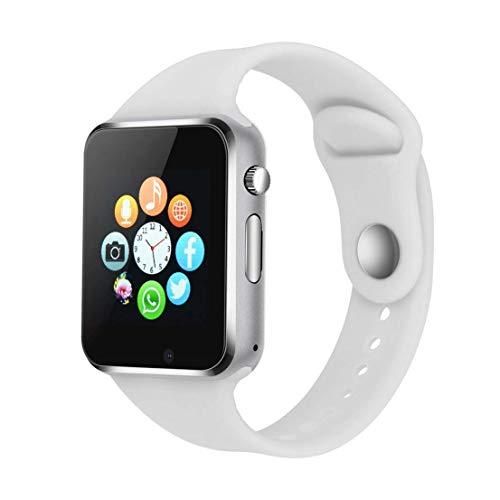 Smartwatch Android iOS Smart Watch Telefono Touch con SIM Slot Notifiche per iPhone Samsung Hawei Xiaomi Orologio Braccialetto Fitness Activity Tracker Donna Uomo Bambini Contapassi Calorie