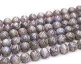 Gros perles labradorite naturelle, 6 mm, 8 mm, 10 mm, perles de labradorite lisses et rondes mates. 8mm,47pcs