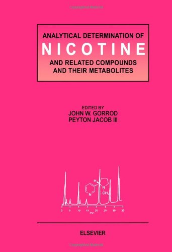 Analytical Determination of Nicotine and Related Compounds and their Metabolites