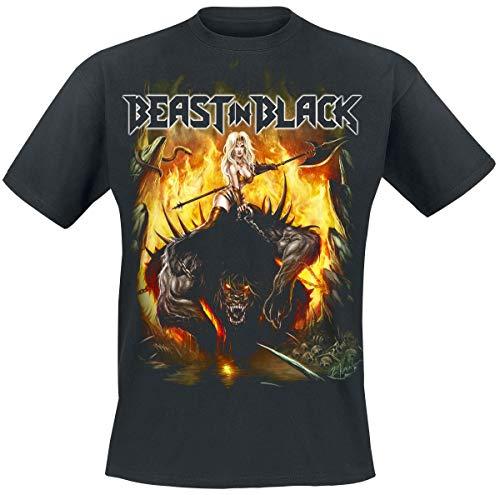 Beast In Black from Hell with Love T-Shirt schwarz XXL (Black Shirt Beast)
